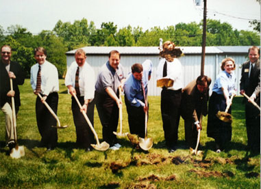 Blue Grass expands with our 15,000 sq. ft. expansion.